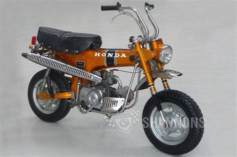 honda 70 trail bike sold honda st70 dax trail bike auctions lot 1 shannons
