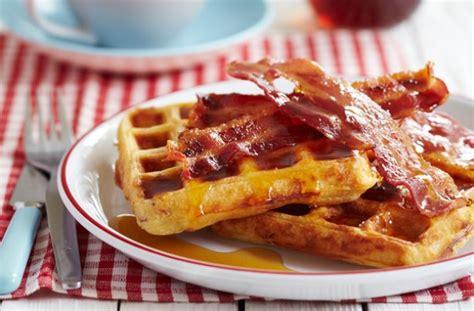 Panci Waffle resep beef bacon and waffle 2018 harianindo