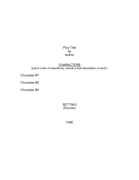 script templates for pages script template education world