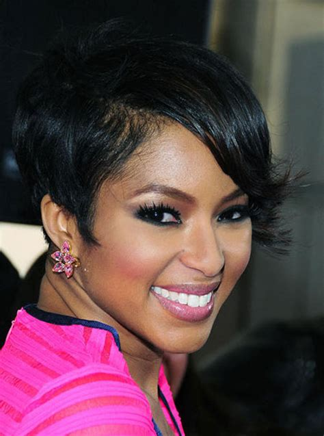 black women hairstyles short on one side and long on the other black people short haircut haircuts models ideas