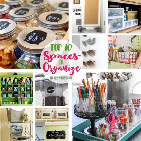 Best Diy Crafts Ideas Creative Reflection 365 Days To - top 10 spaces to organize kleinworth co