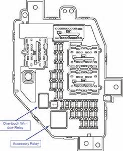 2001 ford ranger relay diagram fuse box location ranger