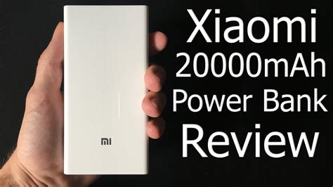 Spek Power Bank Xiaomi xiaomi 20000mah power bank review