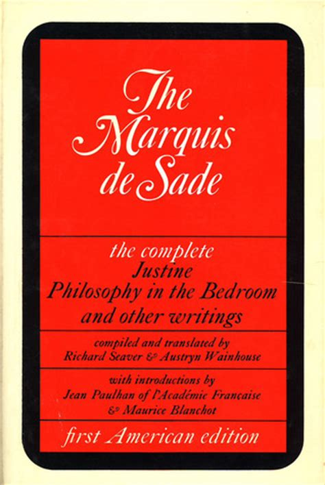 marquis de sade philosophy in the bedroom frankie orlando fl s review of justine philosophy in