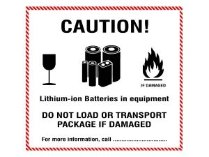 Un 3481 Aufkleber Download by Handling Labels Lithium Ion Batteries In Equipment Un