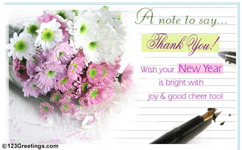 new year thank you message happy new year thank you messages foto gambar