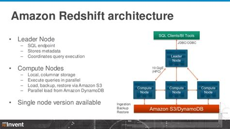 amazon redshift getting maximum performance from amazon redshift dat305