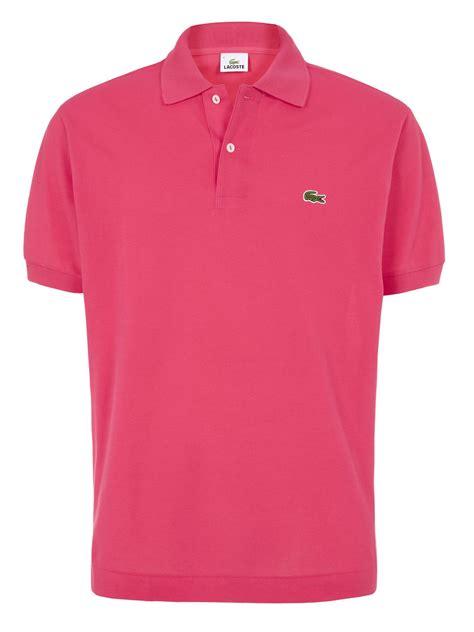 Lacoste L1212 Ori Singapore lacoste plain l1212 original polo in pink for fuchsia