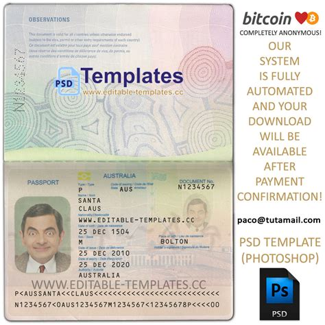 fake id templates uk free download