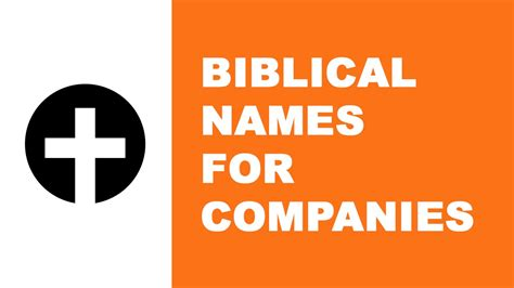 best names biblical names for companies the best names for your