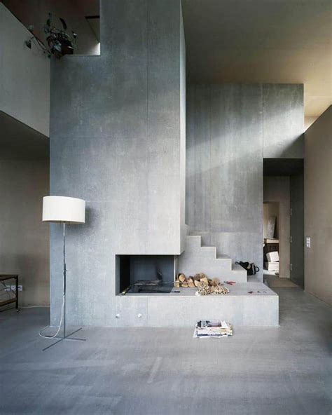 interior concrete walls 35 captivating living room designs with concrete wall