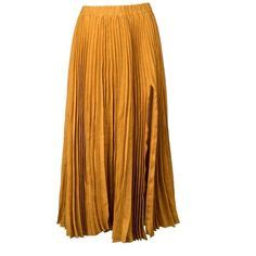 gold skirt polyvore discover and shop the latest in beige midi skirt featuring a wrap design shopbazaar shop