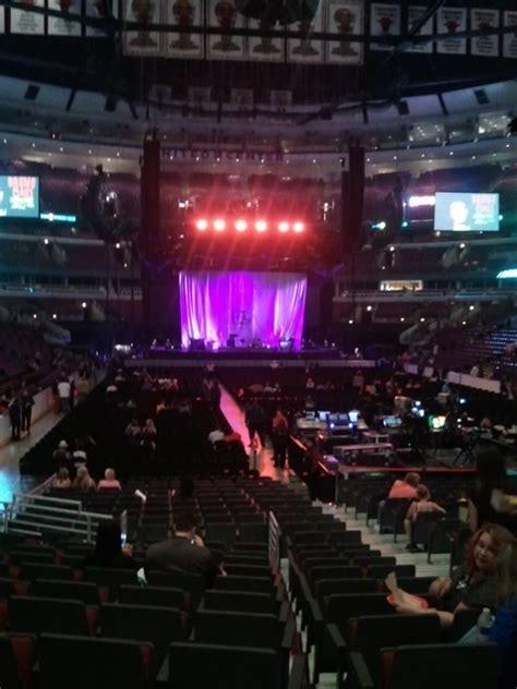 united center section 107 united center section 107 concert seating rateyourseats com