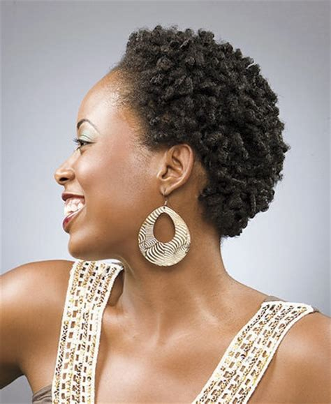styling small afro care4curls cute finger coil out on twa teeny weeny afro