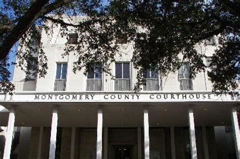 Montgomery County Tx Court Records Montgomery County Courthouse Conroe