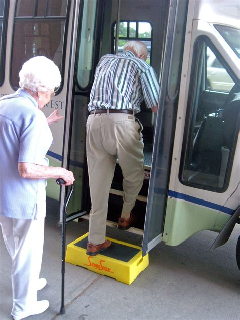 Step Stool For Elderly To Get In Car by Steps For Active Seniors Shure Step