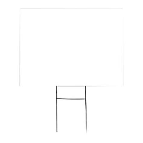 Office Depot Yard Signs Outdoor House Sign Blank 18 X 24 By Office Depot Officemax