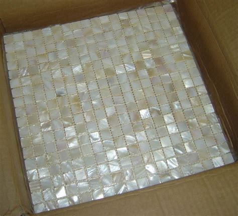 Of Pearl Floor Tile by Brick Pearl Shell Tile Of Pearls
