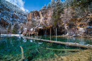 Beautiful States by Hanging Lakes Colorado One Of The Most Beautiful States