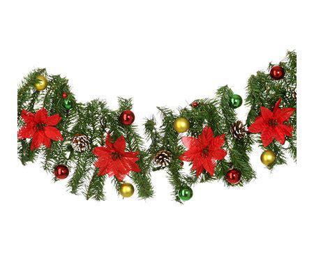 weihnachtsgirlande mit beleuchtung für aussen weihnachts girlande geschm 252 ckt mit beleuchtung f 252 r innen
