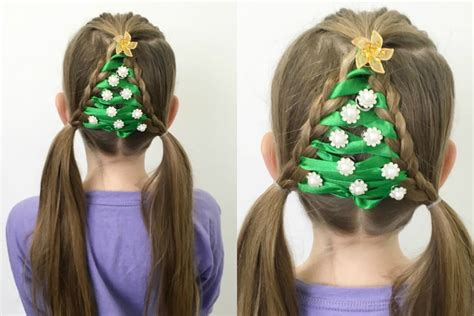 the easiest christmas tree braid ever 12 braids of