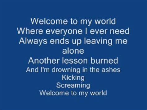sick puppies lyrics sick puppies my world lyrics hd