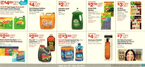 costco printable grocery coupons costco coupons october 30 november 20 2013 coupons