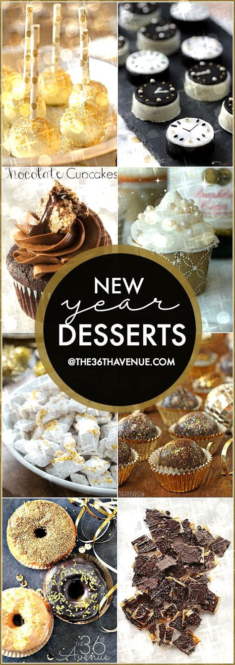 new year easy recipe new year desserts the 36th avenue