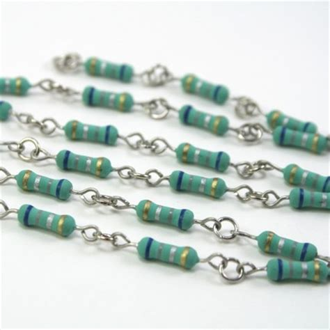 resistors green capacitors create fashion statement for tech heads impact lab