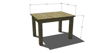 Small Desk Depth Free Diy Furniture Plans To Build A Pb Inspired