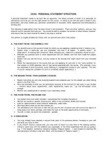 Personal Statements Templates by Personal Statement Template Ucas Search
