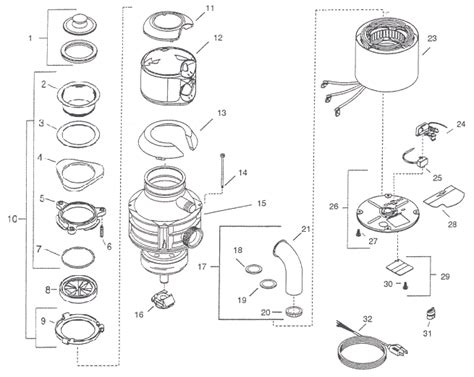 Insinkerator Badger 5 Plus Parts Diagram