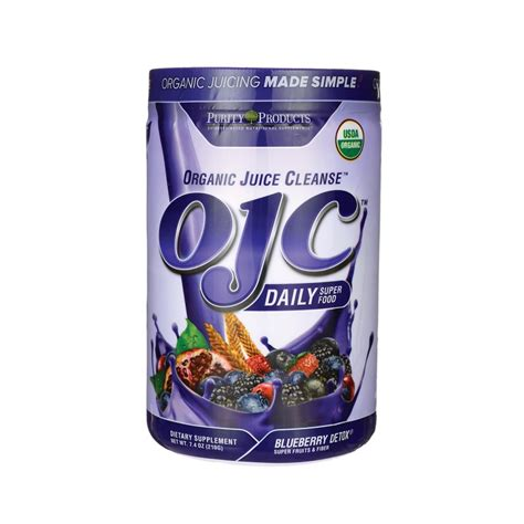 Blueberry Detox Capsules by Ojc Daily Food Blueberry Detox 7 4 Oz 210 Grams Pwdr