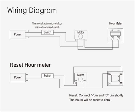 ac hour meter wiring diagram repair wiring scheme