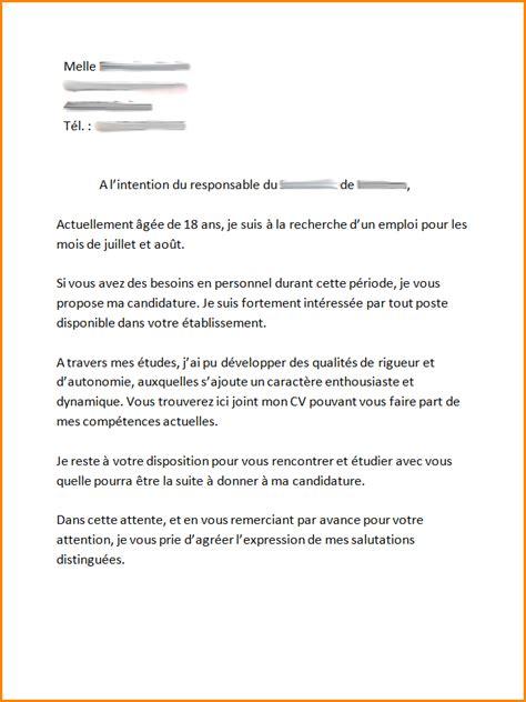 Exemple De Lettre De Motivation Pour Travailler A Zara 8 Lettre De Motivation Pour Travailler Au Mcdo Exemple Lettres