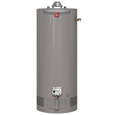 rheem performance 40 gal 6 year 34 000 btu