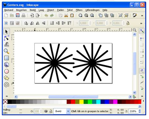 inkscape tutorial nederlands tutorials silhouette cameo bestanden svg files openen
