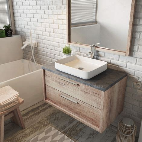 Badmöbel Aus Holz Selber Bauen by Die Besten 25 Waschbecken Mit Unterschrank Ideen Auf