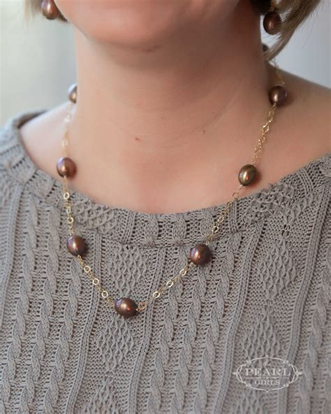 Cup Necklace white drop tin cup necklace the pearl southern