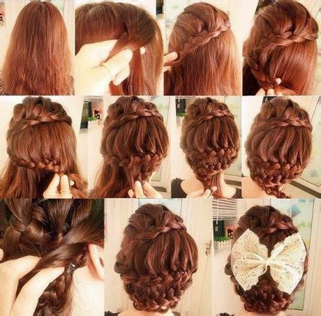 Step By Step Braided Hairstyles by Step By Step Braided Hairstyles With Pictures