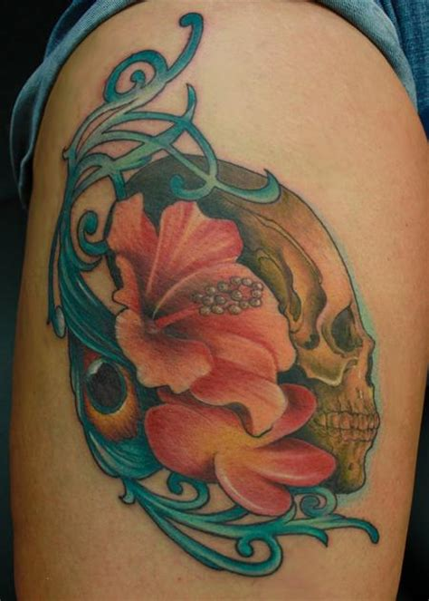 tattoo parlor columbia sc tropical skull by steve phipps tattoonow