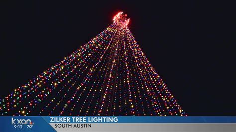zilker tree lighting 50th anniversary zilker tree lighting