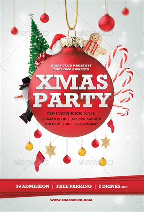 Beautiful Christmas Posters And Flyer Design Templates Animated Flyer Templates
