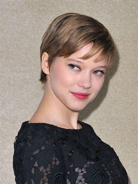 lea seydoux pixie cut les 10 beauty looks cultes de l 233 a seydoux cropped