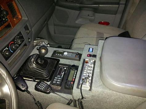 jeep custom console 06 dodge ram custom console i made ham radio things