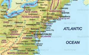 us map of eastern seaboard navigating the cre sweet spots along the eastern seaboard