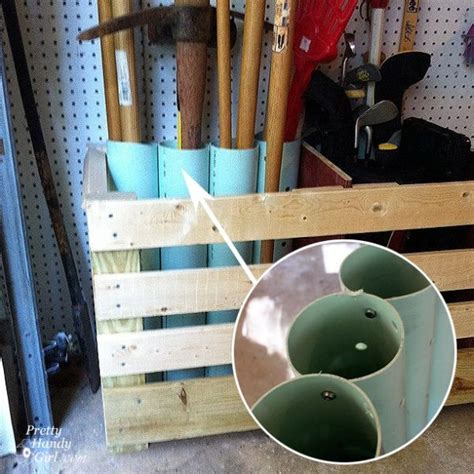 pvc pipe tool rack time to sort out the mess 20 tips for a well organized