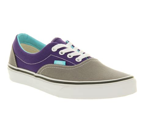 vans era purple vans era heliotrope purple steel grey trainers shoes ebay
