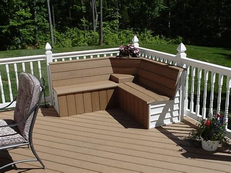 corner deck bench download corner patio bench plans free