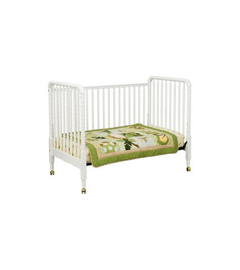 Crib White Convertible Davinci Lind 3 In 1 Stationary Convertible Crib White